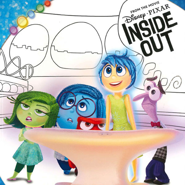 InsideOut, 情緒管理, WorldFamilyHK, Disney's World of English